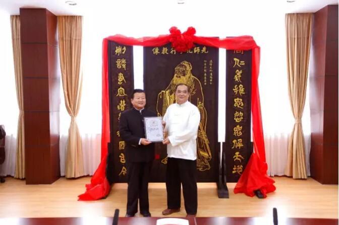 中国著名书刻艺术名家郑锦木
