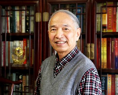 中国著名军旅书法名家林加国老师为《忠孝茗茶》题名